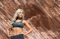 Miss USA Contestants at Red Rock Canyon