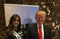 Miss Universe at the Celebrity Apprentice Finale