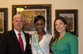 Deshauna Visits Ovarian Cancer Research Fund in DC