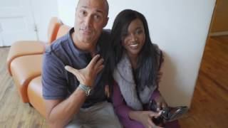 Miss USA 2016 Deshauna Barber Behind the scenes with Nigel Barker