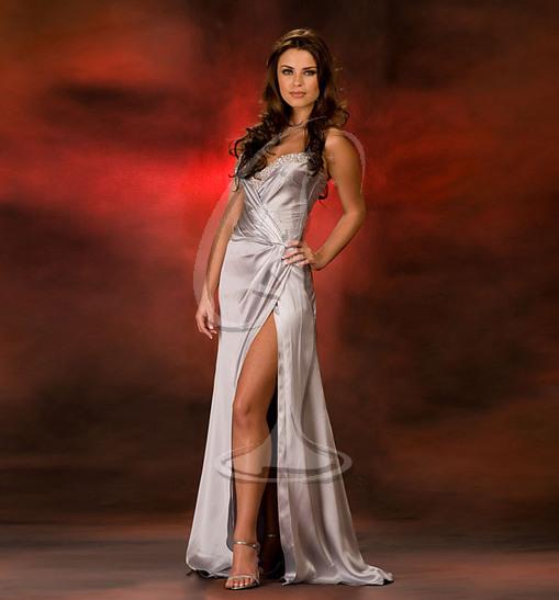 Miss Virginia USA Evening Gown