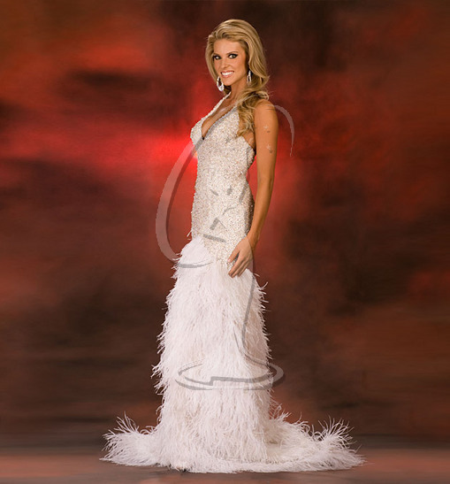 Miss California USA Evening Gown