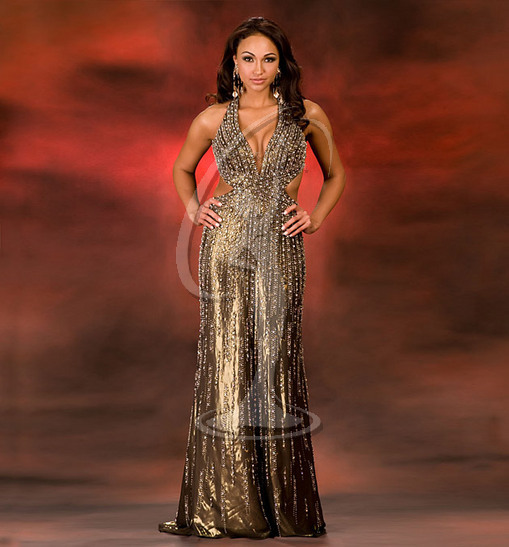Miss Colorado USA Evening Gown