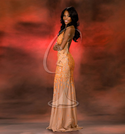Miss District of Columbia USA Evening Gown