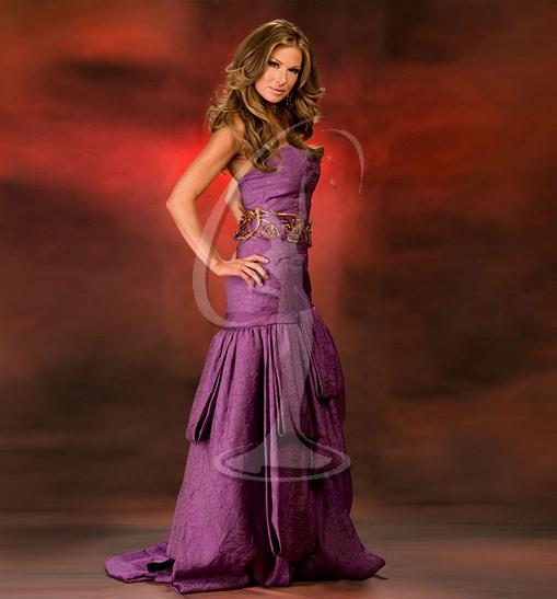 Miss Idaho USA Evening Gown