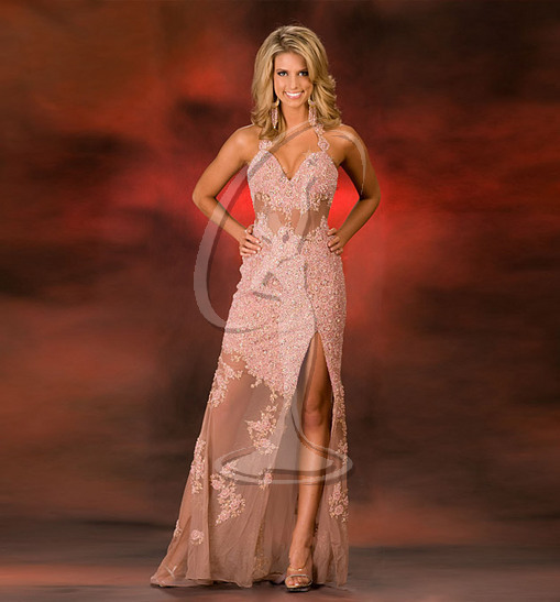 Miss Iowa USA Evening Gown