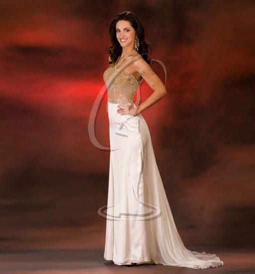 Miss Kansas USA Evening Gown