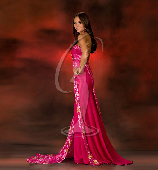 Miss Nebraska USA Evening Gown