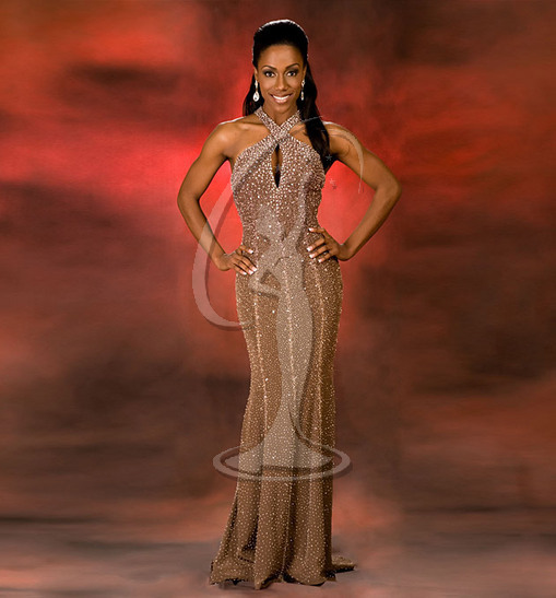 Miss New Jersey USA Evening Gown