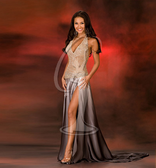 Miss New York USA Evening Gown