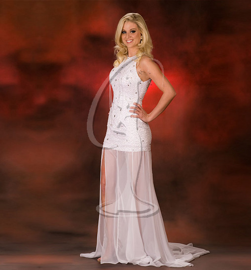 Miss North Dakota USA Evening Gown