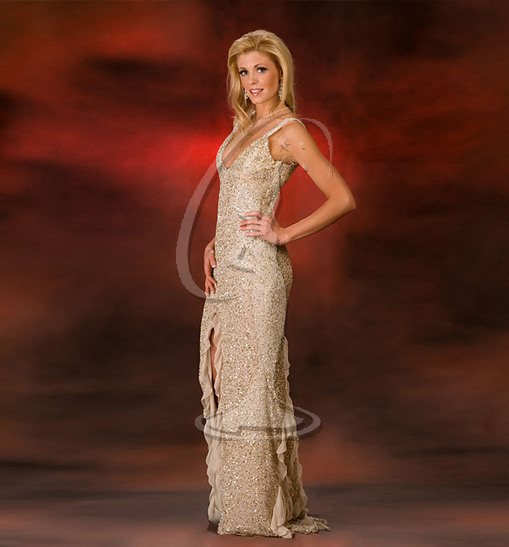 Miss Oregon USA Evening Gown