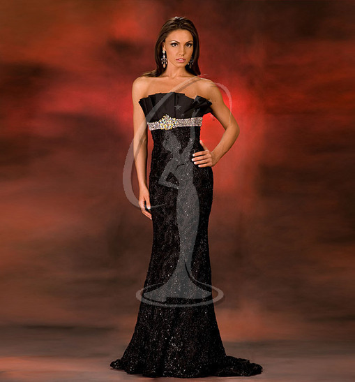 Miss Rhode Island USA Evening Gown