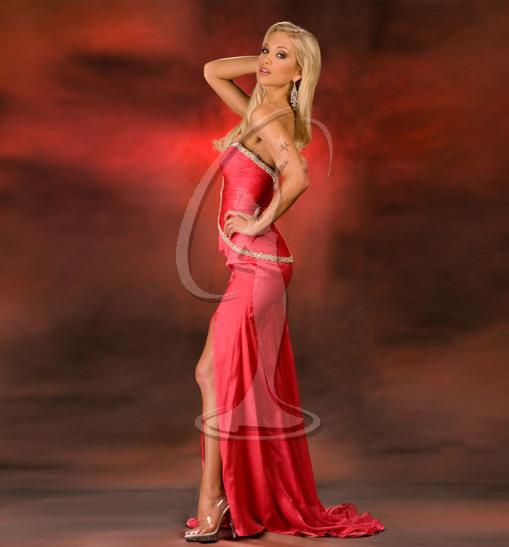 Miss Vermont USA Evening Gown