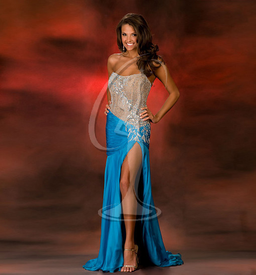 Miss West Virginia USA Evening Gown