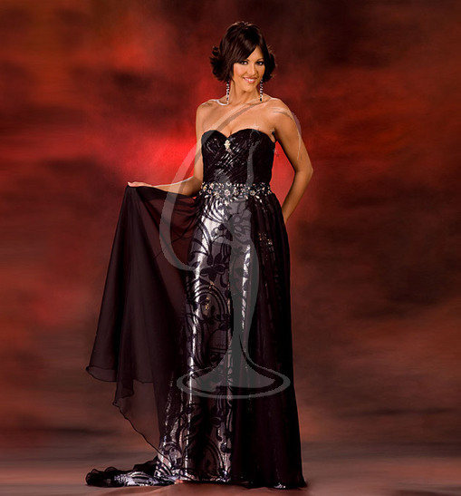 Miss Wyoming USA Evening Gown
