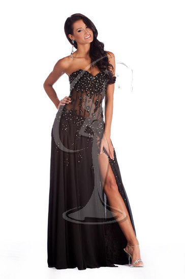 Miss Alaska USA 2010 - Evening Gown