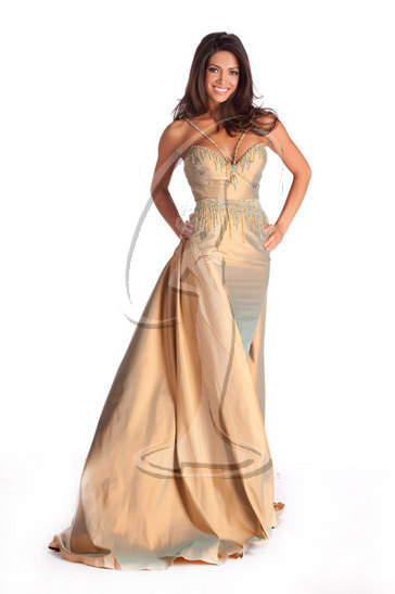 Miss California USA 2010 - Evening Gown