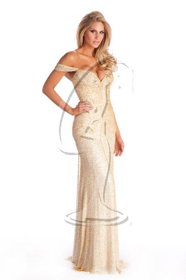 Miss Oklahoma USA 2010 - Evening Gown