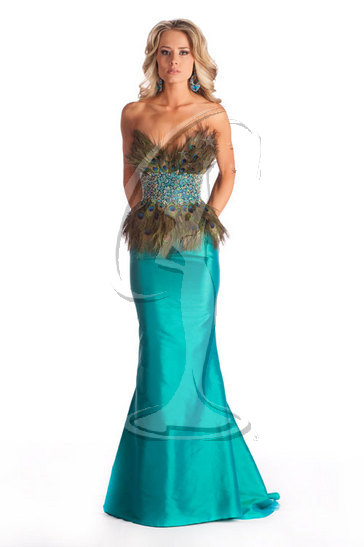 Miss Wyoming USA 2010 - Evening Gown