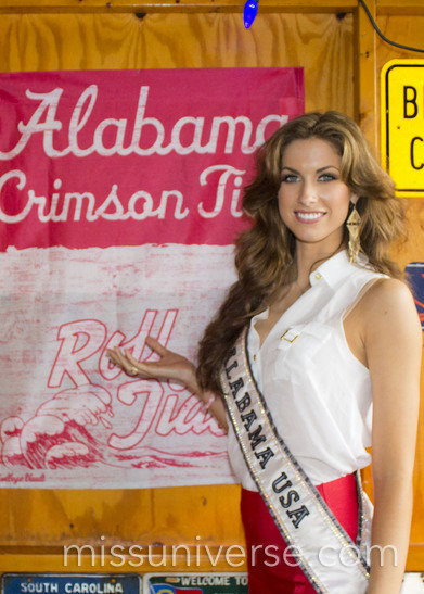 Miss Alabama USA 2012