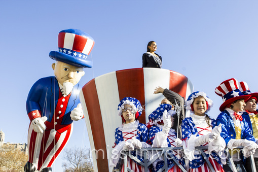 Olivia in the Macy's Thanksgiving Day Parade