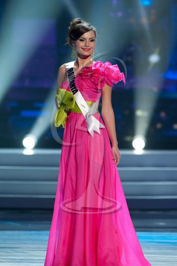 Romania - Preliminary Competition Gown