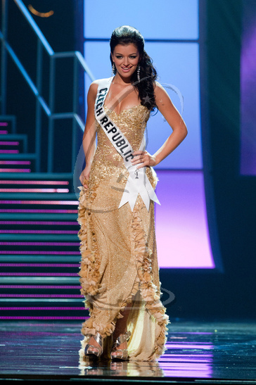 Czech Republic - Preliminary Competition Gown