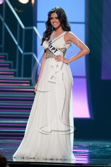 Egypt - Preliminary Competition Gown