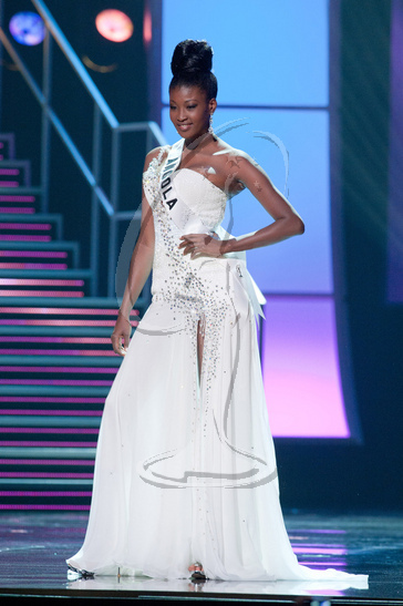 Angola - Preliminary Competition Gown