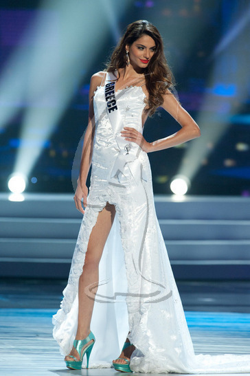 Greece - Preliminary Competition Gown