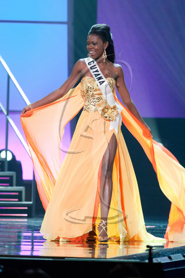Guyana - Preliminary Competition Gown