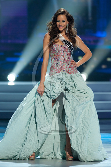 Hungary - Preliminary Competition Gown