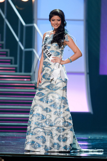 Indonesia - Preliminary Competition Gown