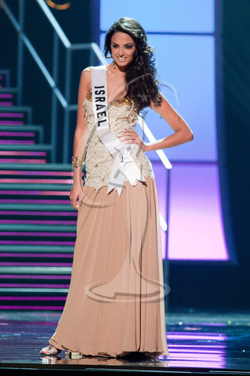 Israel - Preliminary Competition Gown