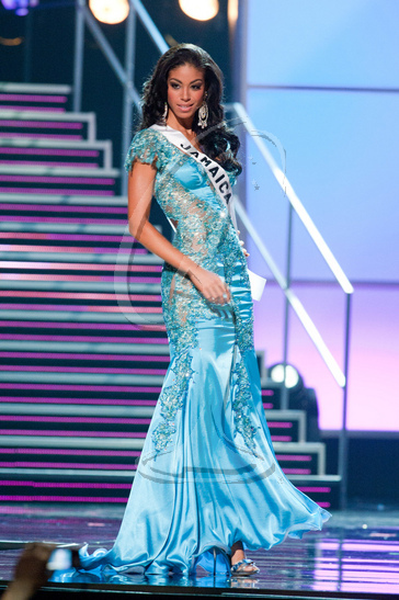Jamaica - Preliminary Competition Gown