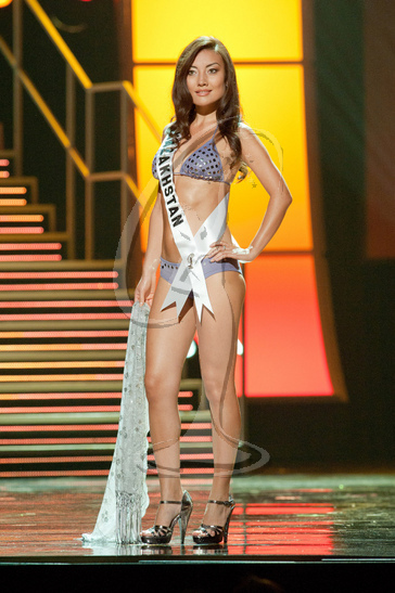 Kazakhstan - Preliminary Competition Swimwear
