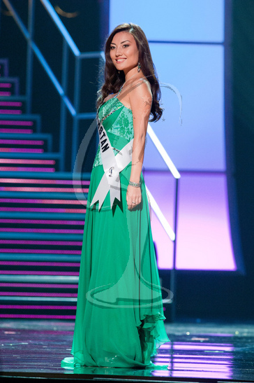Kazakhstan - Preliminary Competition Gown