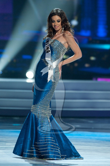 Argentina - Preliminary Competition Gown