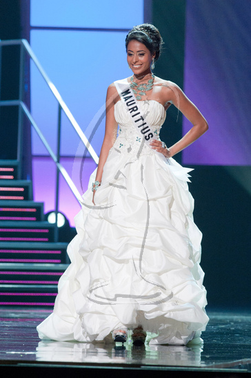 Mauritius - Preliminary Competition Gown