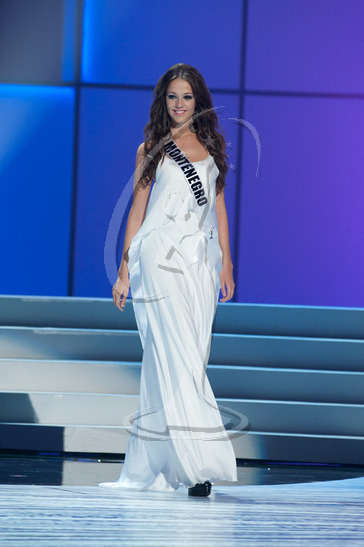 Montenegro - Preliminary Competition Gown