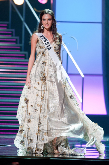 Russia - Preliminary Competition Gown