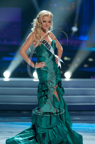 Serbia - Preliminary Competition Gown