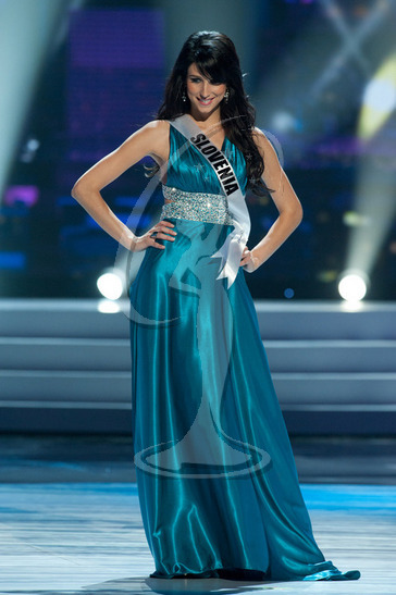 Slovenia - Preliminary Competition Gown