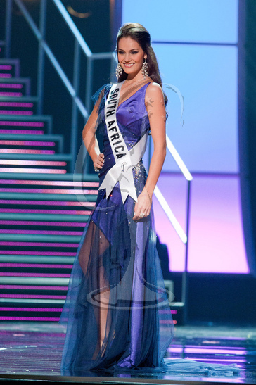 South Africa - Preliminary Competition Gown