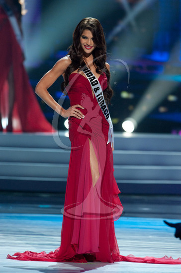 Trinidad & Tobago - Preliminary Competition Gown