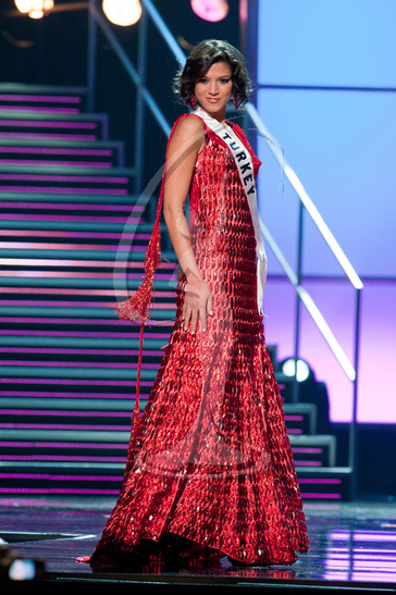 Turkey - Preliminary Competition Gown