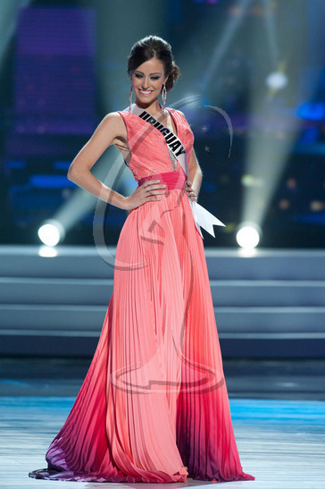 Uruguay - Preliminary Competition Gown