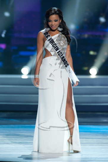 U.S. Virgin Islands - Preliminary Competition Gown