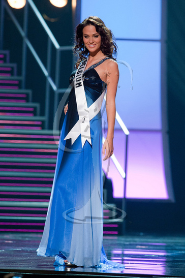 Belgium - Preliminary Competition Gown